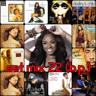 SET MIX 22 (BLACK PARADISE)